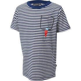 Color Kids Niton - T-shirt manches courtes Enfant - bleu/blanc
